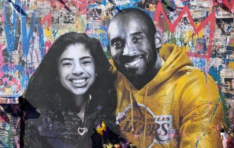 A memorial mural in LA