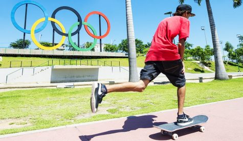 Skateboarding in the Olympics