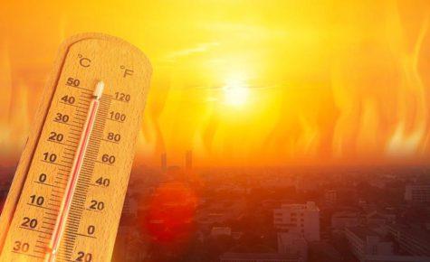 Humid Heat Wave in California