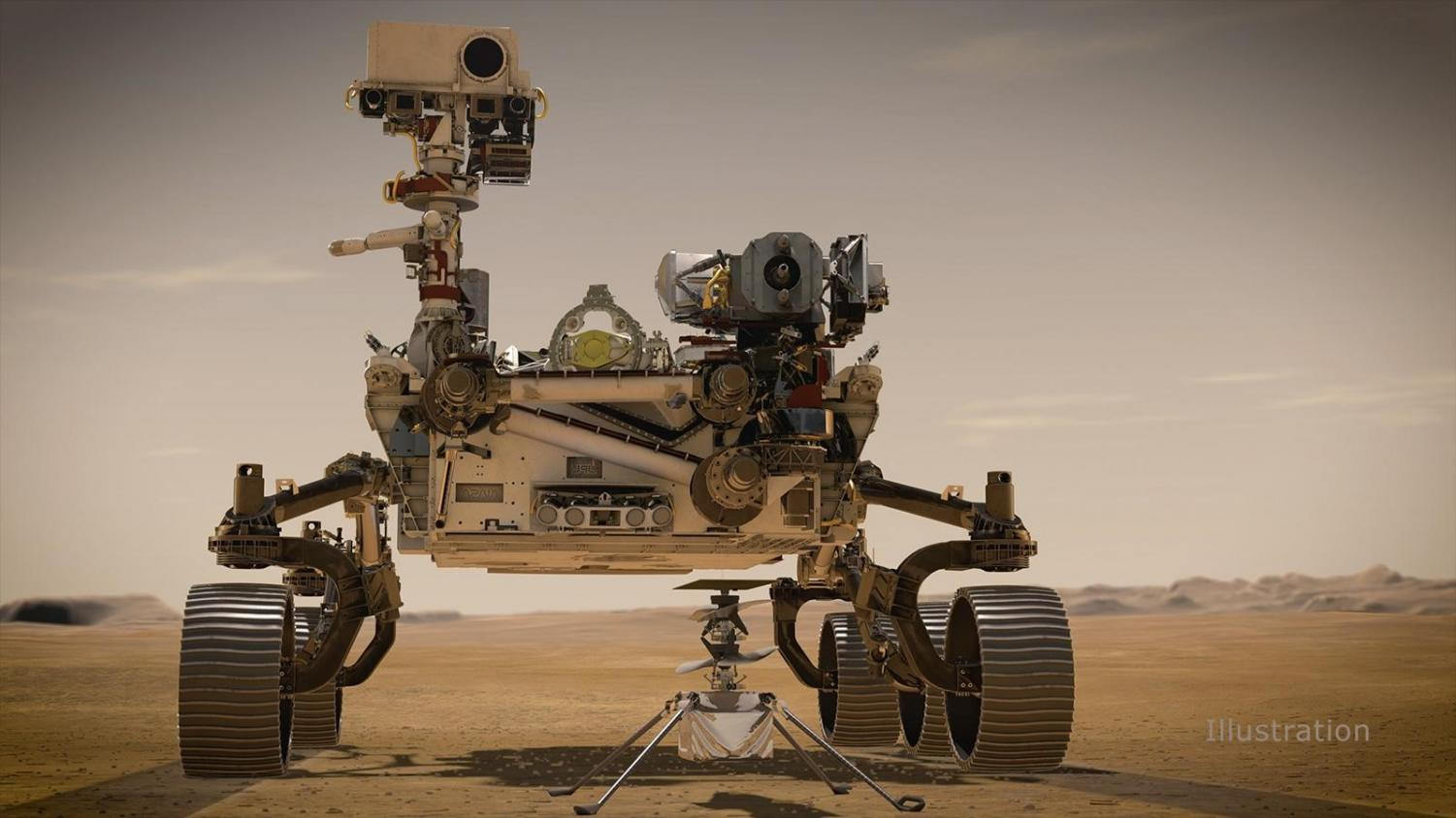 Perseverance Takes First Spin on Surface of Red Planet