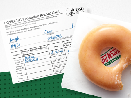 A Free Krispy Kreme Doughnut?!