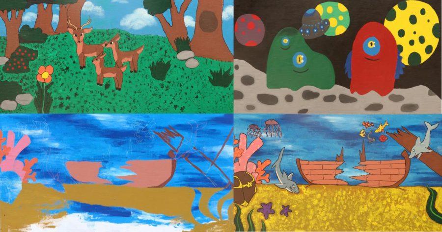 Sultana's Popping Murals